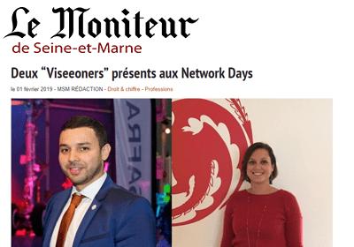 Le moniteur de Seine et Marne Viseeon Network Days