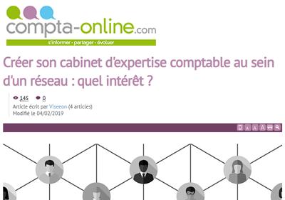 Compta-Online Viseeon ouvrir son cabinet